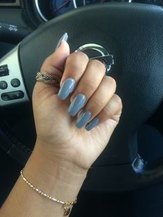 coffin nails in grey