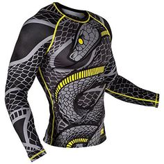 The Venum snaker rash guard was carved for you to prove your talent with style! offering beneficial support the Venum Snaker rash guard improves blood circulation in the muscles and accelerates recov...