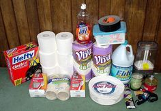 Comprehensive lists for necessary items to store when Bugging In your home, during an emergency!
