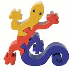 ImagiPlay Colorific Earth Gecko Puzzle $7.19