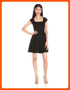 BCBGeneration Women s Cap Sleeve Fit and Flare 60ffe4038