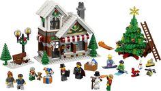 Welkom in de Winter Speelgoedwinkel! Het vakantieseizoen is aangebroken en de speelgoedmaker is bezig met het afwerken van zijn nieuwste creaties! Buiten zijn kinderen aan het skiën en snowboarden, en een net gemaakte sneeuwpop schittert in het licht dat schijnt uit de speelgoedwinkeltoren.