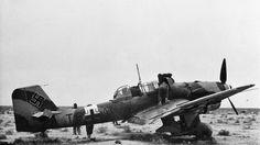 El Stuka se usaría en prácticamente todos los escenarios de la Segunda Guerra Mundial.