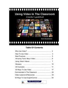 Video in the classroom - a teacher handbook