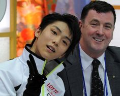 Yuzu and Brian at Four Continents Championship 2013