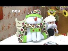Mono de Nieve Abrigado - Yasna Pino - Casa Puchinni - YouTube