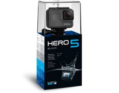 GoPro - HERO5 Black 4K Ultra-HD-Kamera