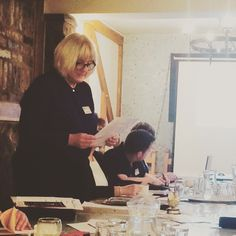 Suzanne Davey giving a great spotlight at #bforb in #Leek this morning