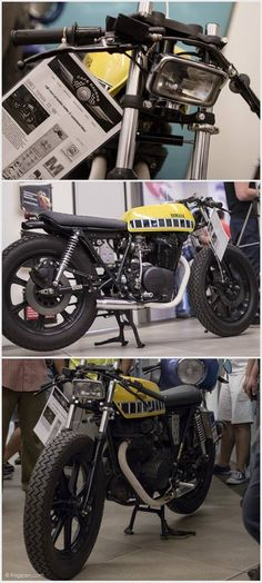 Yamaha XS400 by DCB Lowbrow customized