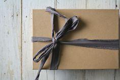Fabric Ribbon - Olive Manna