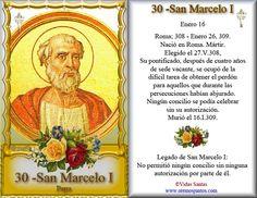 Estampita-30SanMarceloI.jpg (680×526) ¡Mi Santo Patrono, San Marcelo, me guarde siempre!