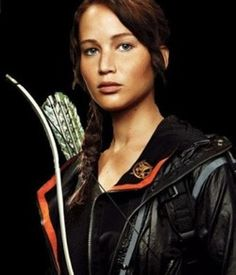 KATNISS!  the hunger games