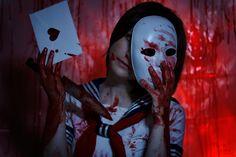 Yandere-chan by Nova Star Cosplay. Photo by Michiko. Yandere Girl, Animes Yandere, Yandere Simulator, Nova, Halloween Face Makeup, Cosplay, Star, Girls, Toddler Girls