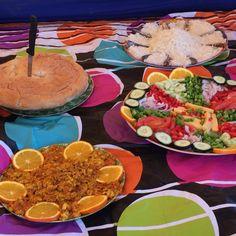 Unser Koch verzaubert uns auf den Trekkings und Wanderungen immer wieder! Mexican, Table Decorations, Ethnic Recipes, Cook, Morocco, Hiking, Mexicans