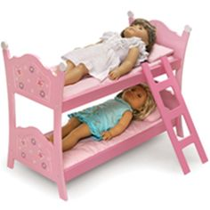 If you are considering a Christmas gift for girls who have doll, the best choice is the 18 inch doll bed for her to complete the pretend play...