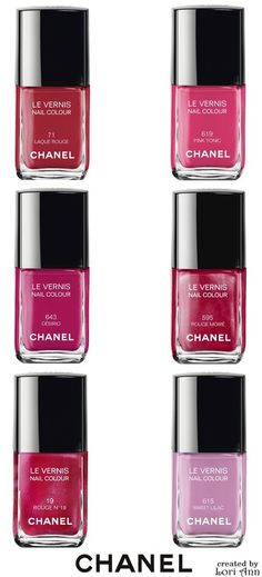 Chanel Limited Edition Le Vernis Nail Colour