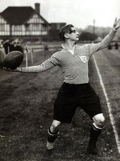 Prince Alexander Serge Obolensky playing for Middlesex