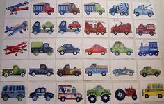 transportation art prints construction trucks by theprincessandpea