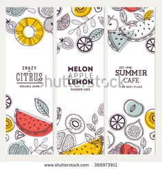 Ideas Fruit Packaging Design Logos For 2019 Fruit Packaging, Food Packaging Design, Branding Design, Design Logos, Fruit Logo, Banner Design Inspiration, Brochure Design Inspiration, Illustration Vector, Fruit Illustration