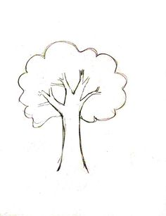 Tree drawing simple how to draw a deciduous tree best trees drawing simple ideas on tree . Doodle Drawings, Cartoon Drawings, Easy Drawings, Pencil Drawings, Tree Sketches, Drawing Sketches, Drawing Skills, Drawing Techniques, Trees Drawing Tutorial