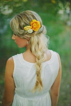 We vow to love wedding hairstyles for long hair all the days of our lives! To show our commitment, we scoured thousands of beautiful pictures on Pinterest—our favorite place to plan that dream wedding—for fresh wedding day looks. Check out this collection of chignons, side braids, and classic half-up-half-down styles. Nobody will look prettier on her wedding day than you!
