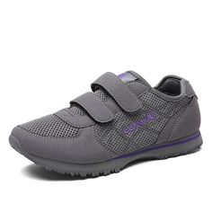 Ladies and old sports shoes in the spring and summer/ Velcro shoe breathable mesh surface/MOM shoes/Walk shoes >>> Continue to the product at the image link.