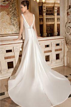 Wedding gown by Illusions by Demetrios