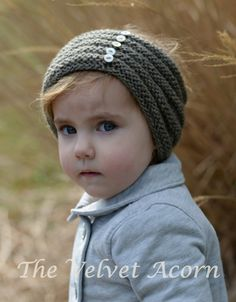 KNITTING PATTERNThe Ridgelyn Set Toddler Child by Thevelvetacorn, $5.50