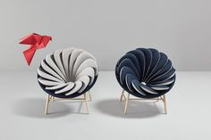 Яркий дизайн кресла от Marc Venot