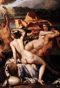 Detail : The Triumph of Neptune. 1634. Nicolas Poussin. French. 1594-1665. oil on canvas.