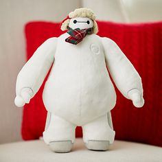 Baymax Holiday Plush - Big Hero 6 - Small - 10 1/2''