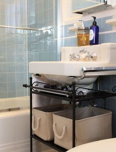 Mueble Ikea Para Ba O Under Bathroom Sink Storagepedestal