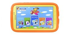 Samsung Galaxy Tab 3 Kids Tablet Announced. It looks like Samsung has decided to launch an Android tablet designed specifically for children, the Samsung Galaxy Tab 3 Kids, which is a version of the Galaxy Tab Tablet Samsung Galaxy, Smartphone Samsung, Samsung Tabs, Best Tablet For Kids, Kids Tablet, Children's Tablet, Tablet Computer, Computer Science, Wi Fi