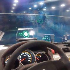Sistemas HUD para autos en #ces2016
