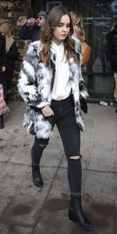 Street Style Trends You'll Want to Copy from the Sundance Film Festival - Liana Liberato from InStyle.com