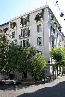 Designed by Vasilios Kouremenos Greece, Multi Story Building, Layout, Exterior, Street, City, Image, Design, Diy Ideas For Home