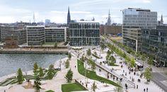 Hamburg City Harbour