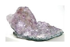 Violet Purple Amethyst Crystal Cluster with by FenderMinerals