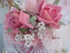 Rose embellished Candy dish