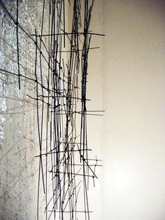 Kate Hendry wire sculpture 2007