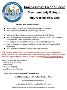 Only 1 week left to apply!  http://downtownmidland.ca/page.php?page=Job+Opportunities&pageType=webpage&wPageId=10006542