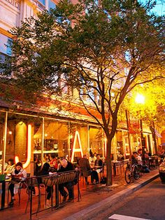 "Jaleo | Spanish tapas | Penn Quarter (also in Crystal City & Bethesda) | good for groups. sidewalk seating looks amazing in summer. On ""the best place to Eat in DC"" in Rachel Ray Mag"