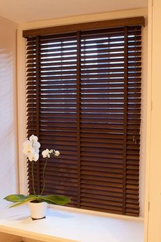perfect wood blind for your home :) Blinds For You, Wood Blinds, Curtains, Home Decor, Insulated Curtains, Wooden Shutters, Interior Design, Home Interiors, Decoration Home