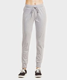 Whether hitting the gym hard or lounging around the house, these breathable cotton-blend joggers are sure to be your favorites. Heather Gray, Sweatpants, Grey, Cotton, House, Women, Products, Fashion, Joggers