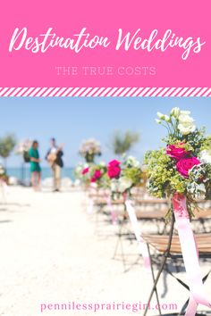 Do you know how much a destination wedding REALLY costs? Check out how much we spent for our tropical wedding!