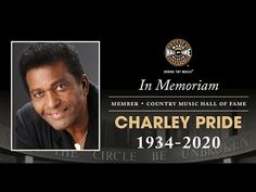 Charley Pride • Country Music Hall of Fame Member • 1934-2020 - YouTube Heart Touching Story, Touching Stories, Destiny Gif, In Memorian, Musica Country, Charley Pride, Jean Simmons, Rock Hudson, I Love Lucy