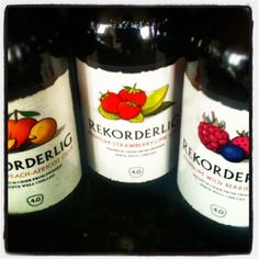 peach and apricot Rekorderlig cider ... !! WANT!