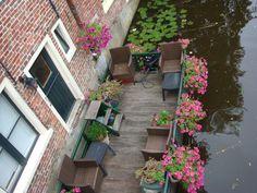 #Appingedam, #floating garden