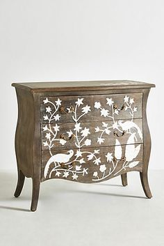 Birdsong Three-Drawer Dresser