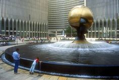 World Trade Center Plaza and Sphere